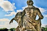 une statue