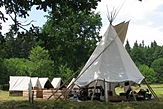 un camp de scouts